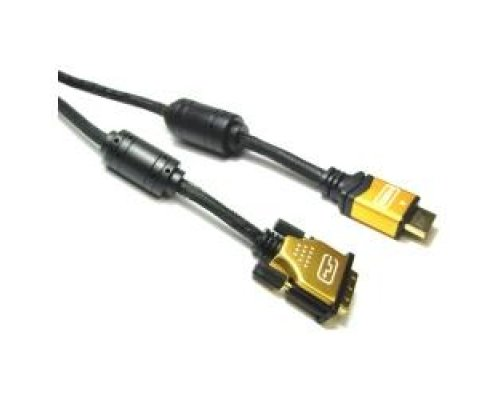 SUPER CABLE HDMI 1.4 DE TIPO HDMI-A MACHO A DVI-D MACHO DE 2