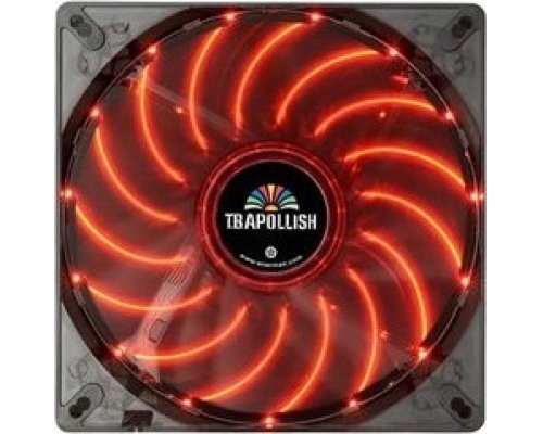 VENTILADOR 120mm ENERMAX T.B. APOLLISH LED ROJO 900rpm