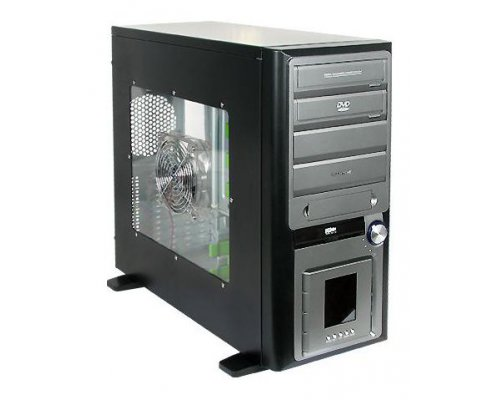 "CAJA ATX OLIMPIA BIG TOWER CON LCD LED""S LATERAL ACRÍLICO. S"