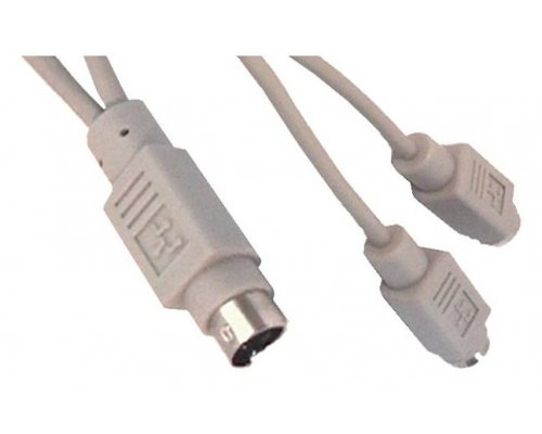 CABLE APPLE ADB 1XM-DIN4M>2XMDIN4H