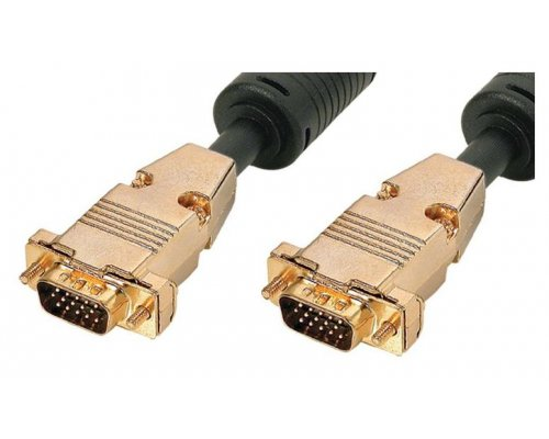 CABLE DE MONITOR PNP+FERRITA VGA HQ HD15 M/M