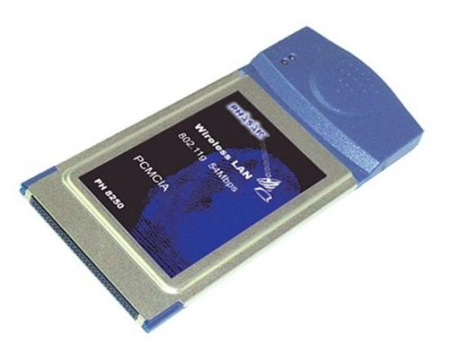 TARJETA DE RED PCMCIA PHASAK WIRELESS 54 MBPS. 802.11G