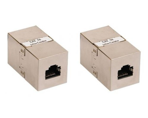 ADAPTADOR CROSS OVER RJ45 H/H STP CAT. 5E