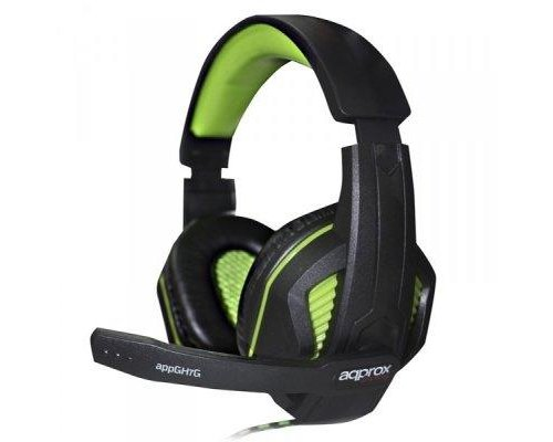APPROX AURICULAR+MIC GAMING APPGH7G VERDE