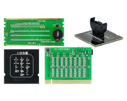 KIT DE COMPROBADORES PARA SOCKET CPU INTEL 1156