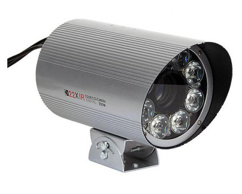 CÁMARA CCTV DE EXTERIOR ZOOM 22X CON ENFOQUE VARIABLE. IR 60