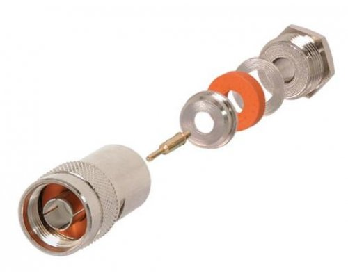 CONECTOR N PLUG CLAMP