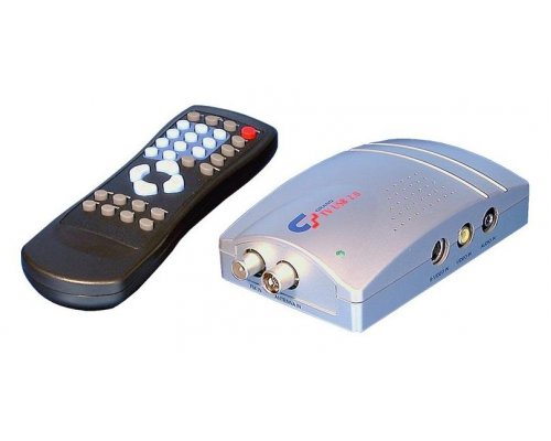 CAPTURADORA SINTONIZADOR TV EXTERNO SOFT DIVX USB 2.0