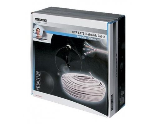 BOBINA DE CABLE UTP CAT. 6 FLEXIBLE