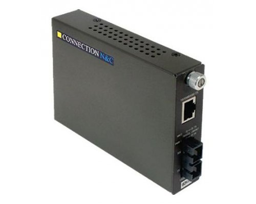 TRANSCEPTOR CONNECTION 100 BASE TX A F.O. MONOMODO SC 100 BA