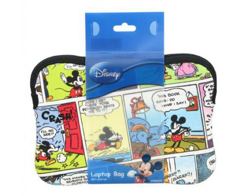 "FUNDA NETBOOK 10"" MICKEY MOUSE VIÑETAS"