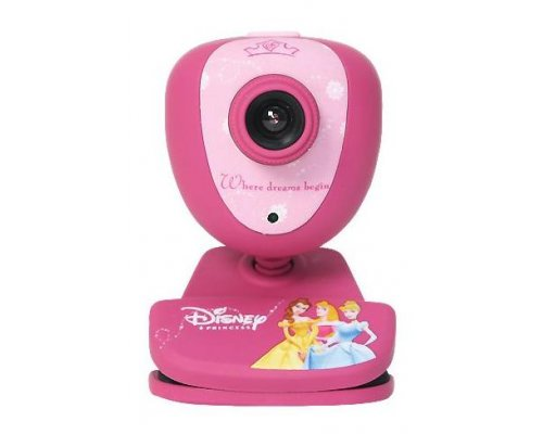 WEBCAM 1.3 MP USB PRINCESAS DISNEY