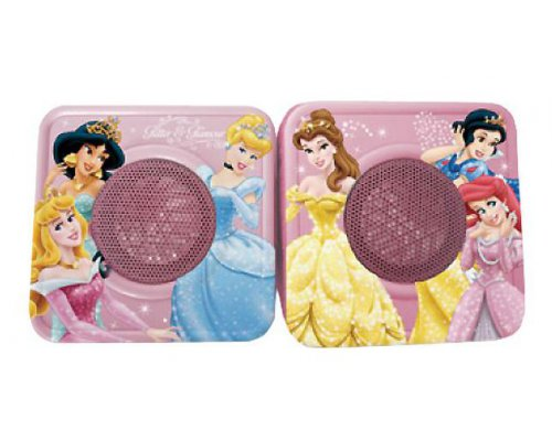ALTAVOCES 2.0 USB JACK 3.5 MM. PRINCESAS DISNEY