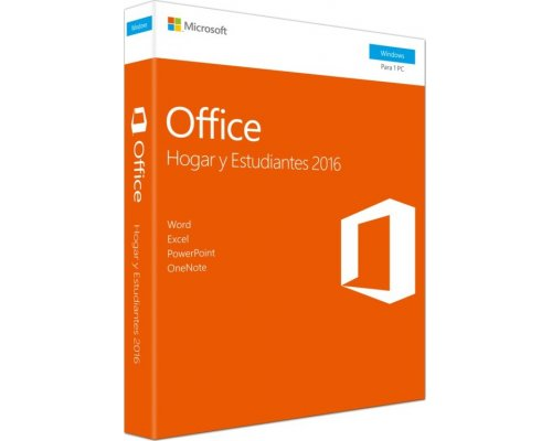 SOFTWARE MICROSOFT OFFICE HOGAR & ESTUDIANTES 2016 V2 PKC