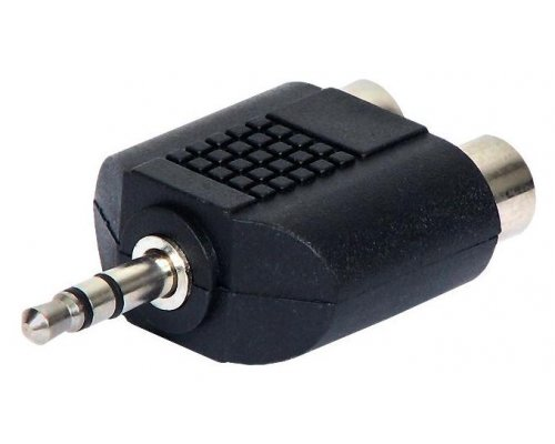 ADAPTADOR DE AUDIO JACK 3.5 MM M A RCA H