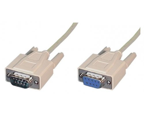 CABLE SERIE DB9 M/H INYECTADO