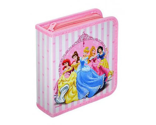 ARCHIVADOR 24 CD/DVD DISNEY PRINCESAS