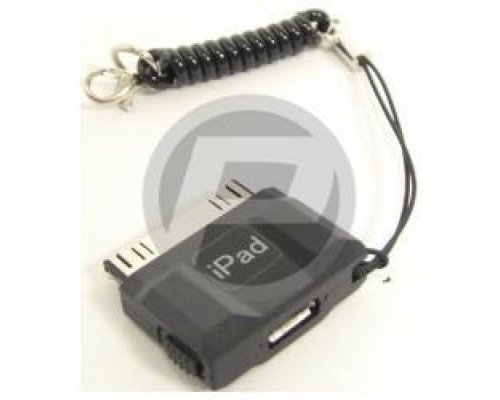 ADAPTADOR DE CONECTOR IPHONE IPOD Y IPAD A MICROUSB