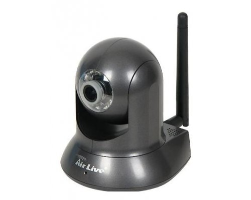 CÁMARA INTERIOR AIRLIVE IP WIRELESS N H.264 2.0MP PAN/TILT.