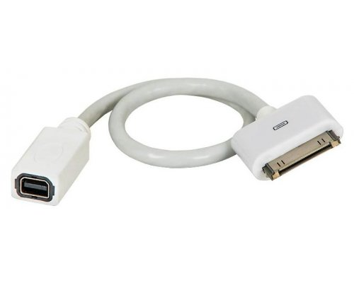 CABLE ADAPTADOR MINI DISPLAY PORT PARA IPAD/IPHONE/IPOD