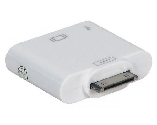 ADAPTADOR HDMI+USB PARA IPHONE 4/IPOD 4G/IPAD 2