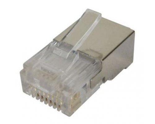 CONECTOR RJ 45 CAT.5 FTP PARA CABLE FLEXIBLE