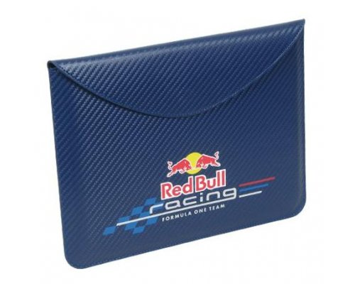 FUNDA PROTECTORA RED BULL RACING CARBONO IPAD/IPAD 2