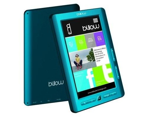 "BILLOW E2TLB COLOR EBOOK READER 7"" 4GB AZUL"
