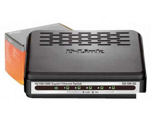 SWITCH D-LINK EASY DESKTOP 5 PUERTOS 10/100/1000 MBPS