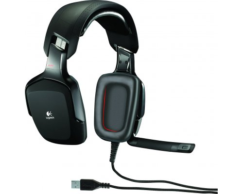 AURICULARES + MICRO LOGITECH G35 USB SURROUND 7.1