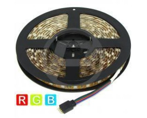 KIT DE TIRA DE LEDS FLEXIBLE 13 LM/LED 60 LED/M DE 5M IP65 R