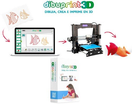 SOFTWARE DIBUPRINT3D BASIC 1 LICENCIA