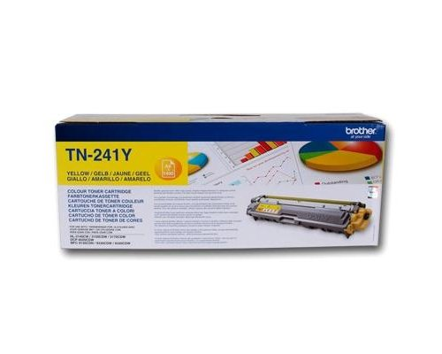 TÓNER ORIGINAL BROTHER TN241Y AMARILLO