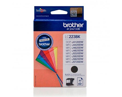 CARTUCHO ORIGINAL BROTHER LC-223BK NEGRO
