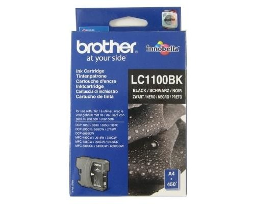 BROTHER LC1100BK CARTUCHO TINTA NEGRO