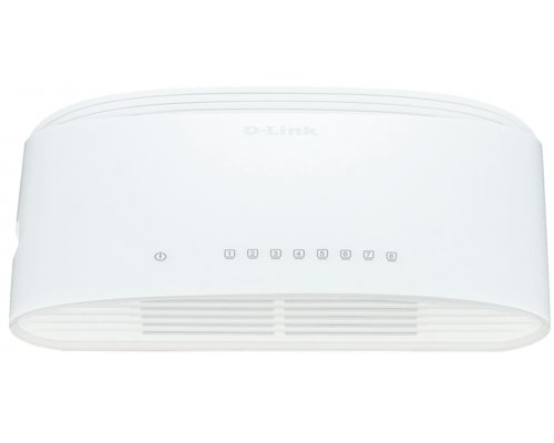 SWITCH 8PUERTOS D-LINK DGS-1008D GIGABIT