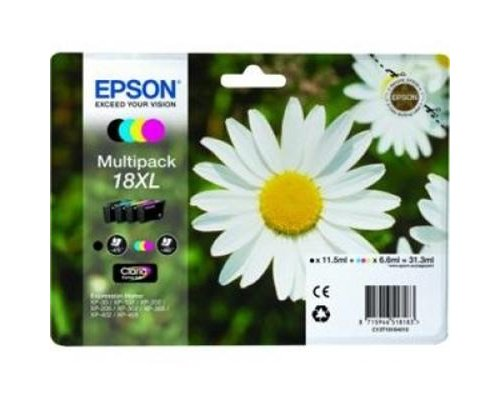 CARTUCHO ORIGINAL EPSON 18XL MULTIPACK