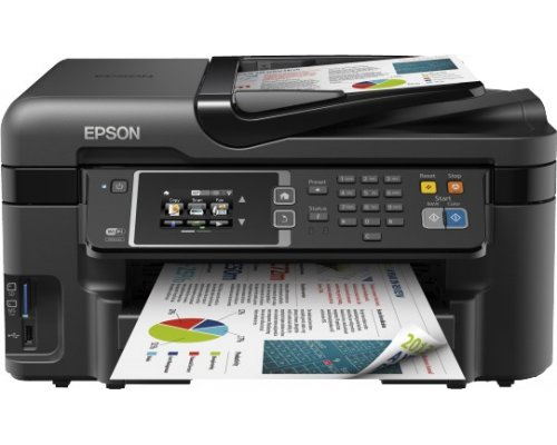 IMPRESORA MULTIFUNCIÓN EPSON WORKFORCE WF-3620DWF WIFI LAN