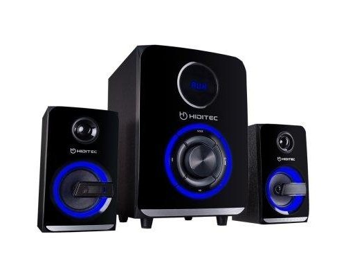 ALTAVOCES HIDITEC 2.1 H500 100W BLUETOOTH SD NEGRO