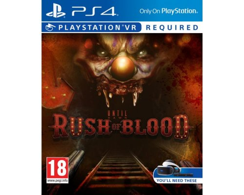 JUEGO UNTIL DAWN RUSH OF BLOOD PS4 VR