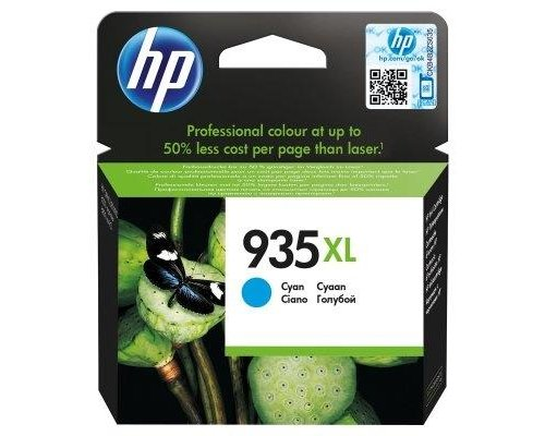 CARTUCHO ORIGINAL HP 935XL CIÁN (C2P24AE)