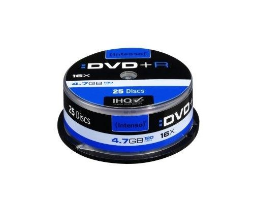INTENSO DVD+R 4.7GB 16X TARRINA 25UDS