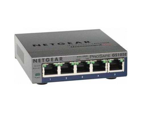 NETGEAR GS105E-200PES SWITCH 5P GIGABIT RJ45