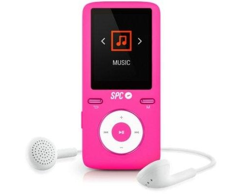SPC REPRODUCTOR MP4+RADIO 8488P 8GB ROSA