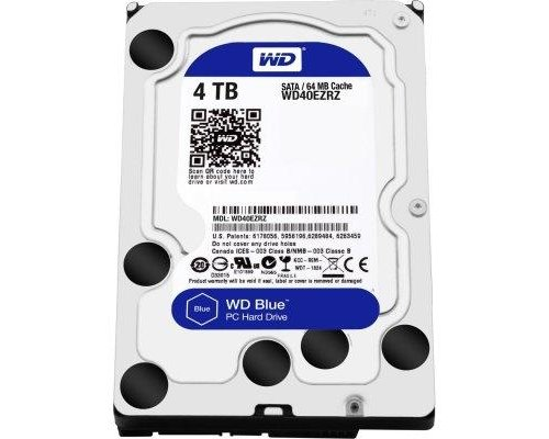 HD SATA3 4TB WESTERN DIGITAL BLUE 64MB WD40EZRZ