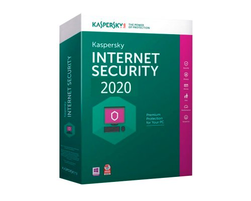 ANTIVIRUS KASPERSKY INTERNET SECURITY 2020 1EQUIPO 1AÑO