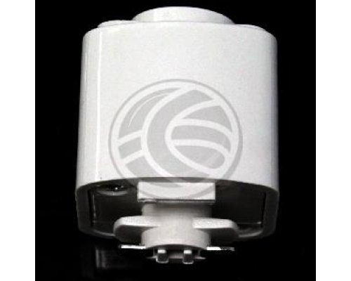 ADAPTADOR DE CARRIL RIEL PARA LUZ DE TECHO 1-VIA BLANCO NH44