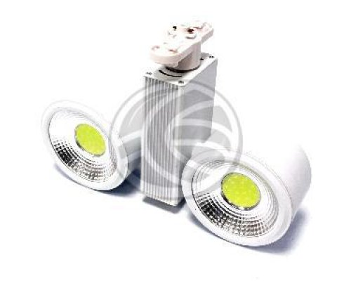 FOCO LED DE RAIL 24W BLANCO FRIO 114X62MM BLANCO DUAL