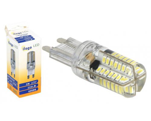 BOMBILLA LED G9 3W 220lm BLANCO NEUTRO