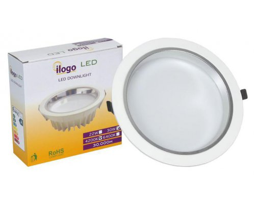 DOWNLIGHT LED ILOGO 230V